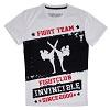 FIGHTERS - T-Shirt / Fight Team Invincible / Weiss / Large