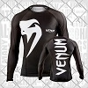 Venum - Rashguard / Giant / Long Sleeve / Schwarz / Large