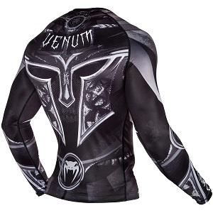 Venum - Rashguard / Gladiator 3.0 / Long Sleeve / Schwarz / Medium
